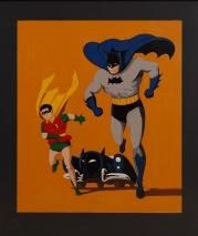 Batman & Robin schwarz