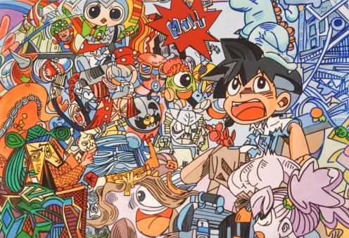 Manga Picasso Nr. 1